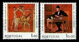 PORTUGAL, AF 1251/52, Yv 1261/62, * MLH, F/VF, Cat. € 72,00 - Neufs