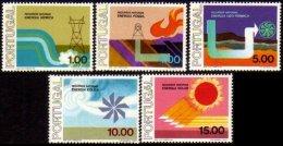 PORTUGAL, AF 1313/17, Yv 1323/27, * MLH, F/VF, Cat. € 11,00 - Neufs