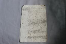 Document 1689 à Determiner - Documents Historiques