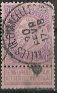_7Be-629: N° 66:  Type E11: BRUXELLES(R.CHANCELLERIE) ..met Kortere Hoek - 1893-1900 Fine Barbe