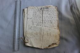 Lot De Documents Reliés  Sur Montigné XVIIIème Siècle - Historische Documenten