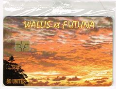 Wallis Et Futuna Telecarte Phonecard Paysage Coucher Soleil Nukuhione Wallis  WF35 Neuve Sous Blister Numérotee UNC BE - Wallis And Futuna