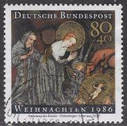 Germany SG2149 1986 Christmas 80pf+40pf Good/fine Used [35/29485/9D] - [7] Federal Republic