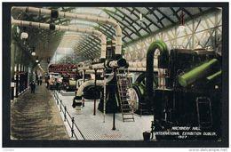 IRELAND MACHINERY HALL INTERNATIONAL EXHIBITION DUBLIN 1907 POSTCARD - Dublin