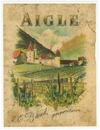 Rare // Aigle, E.Baud, Vaud // Suisse - Etiquettes