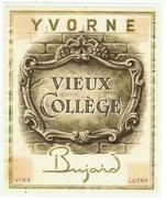 Rare // Yvorne,Vieux Collège, Bujard, Lutry, Vaud // Suisse - Etiquettes