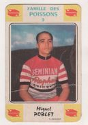 CYCLISME - MIGUEL POBLET CYCLISTE ESPAGNOL EQUIPE SAINT RAPHAEL GEMINIANI - IMAGE ANCIENNE - VOIR LES SCANNERS - Ciclismo