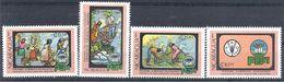 1982 NICARAGUA 1204-07 ** F.A.O, Fruits, Canne à Sucre - Nicaragua