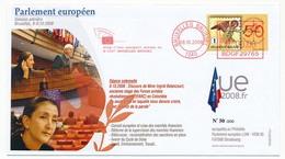 BELGIQUE - INGRID BETTENCOURT Au Parlement Européen - Bruxelles 8/10/2008 - European Ideas