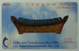 LAOS - A Bass Gamelan - Musical Instruments - 200 Units - 1998 - Mint - Laos
