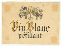 Rare // Vin Blanc Pétillant // Suisse - Etiquettes