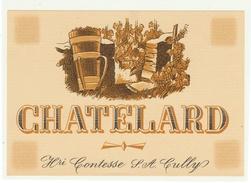 Rare // Chatelard, Henri Contesse S.A. Cully, Vaud // Suisse - Etiquettes