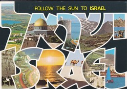 ISRAEL---SDOM--follow The Sun To Israel--multivues--voir  2 Scans - Israel