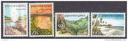 PAPUA NEW GUINEA, 1985 SCENES 4 MNH - Papua New Guinea