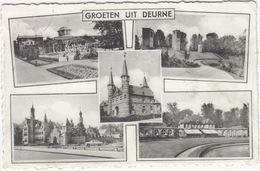 Deurne: FORD CRESTLINE '53 - Kasteel Sterckshof - 'Groeten Uit Deurne'- (1953)  - (België) - Turismo