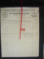 PAD. 264. Entreprise De Toitures En Zinc, M. Hermans - Liétart à Basècles. 1936 - Bélgica