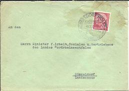 LETTER 1958  ALBERSDORF - [7] Federal Republic