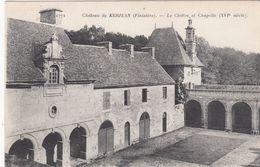 Cp , 29 , SAINT-VOUGAY , Château De KERJEAN , Le Cloître Et Chapelle (XVIe S.) - Saint-Vougay