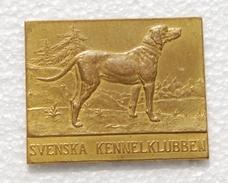 Medal Svenska Kennelklubben Manufactured By  Sporrong - Professionnels / De Société