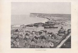 1900 - Iconographie - Le Tréport (Seine-Maritime) - Vue Générale - FRANCO DE PORT - Old Paper
