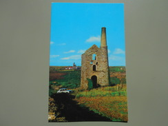 ANGLETERRE CORNWALL / SCILLY ISLES  AN OLD CORNISH TIN MINE - St.Ives