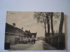 Meliskerke (gem.Veere) Zicht In Het Dorp (geanimeerd) Gelopen 1928 - Nederland