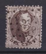 N° 14 A LP 258 MOUSTIER Coba +10.00 - 1863-1864 Medallones (13/16)