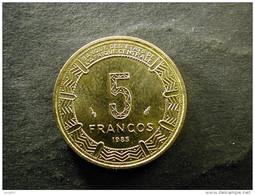 Equatorial Guinea 5 Francos 1985 Unc - Equatorial Guinea