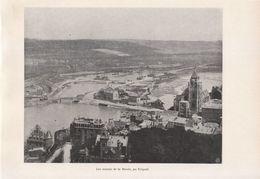 1900 - Iconographie - Le Tréport (Seine-Maritime) - Les Marais De La Bresle - FRANCO DE PORT - Old Paper