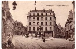 Doubs - BESANCON - Sur La Place Bacchus - 1923 - Besancon