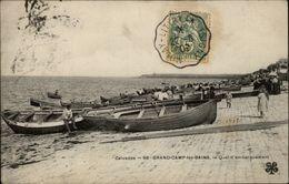 14 - GRANDCAMP - Quai D'embarquement - France