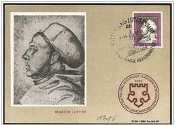 DDR: Maximum, Martin Lutero, Martin Luther, Riformatore, Réformateur, Reformer - Teologi