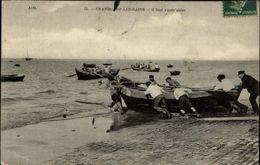 14 - GRANDCAMP - Pecheurs - Bateaux - Barque - France