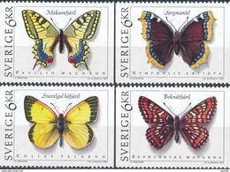 Zweden  Butterflies - Vlinders
