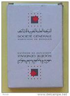 SOCIETE GENERALE DE BANQUES - MAROC - JEU DE 40 CARTES : COUPES EPEES BATONS DENIERS - 3 SCANS - Speelkaarten