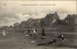 14 - GRANDCAMP - Plage - Villas - Croquet - France