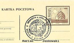 Poland 1972 - Eagle Feeds His Chicks - Águilas & Aves De Presa