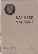 BALASSE MAGAZINE N° 22  + Supplement - Belgique