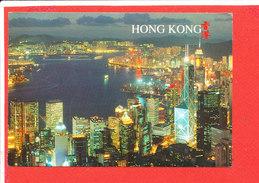 HONG KONG Cp By Night  N 818 V Photo Chung Yin - Chine (Hong Kong)