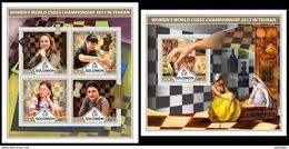 SOLOMON Isl. 2017 - Women's Chess. M/S + S/S - Schaken