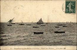 14 - GRANDCAMP - Bateaux - Voilier - France