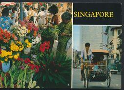 °°° 6736 - SINGAPORE - VIEWS - 1984 With Stamps °°° - Singapore