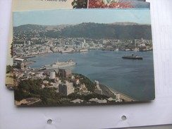 Nieuw Zeeland New Zealand Wellington Harbour From Mount Victoria - Nouvelle-Zélande