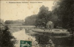14 - FONTAINE-HENRY - Chateau - Kiosque - France