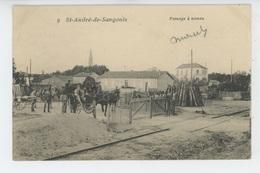 SAINT ANDRÉ DE SANGONIS - Passage à Niveau - France