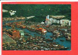 HONG KONG Cp Vue Aérienne Bird ' SEye        H S 847 By  Cheng - Chine (Hong Kong)