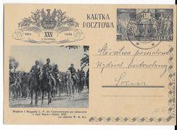 1939 - POLOGNE - CARTE ENTIER POSTAL ILLUSTREE RAREMENT VOYAGEE De SWIATNIKI / WARTA - Ganzsachen
