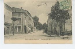 SAINT ANDRÉ DE SANGONIS - Avenue De La Gare - France