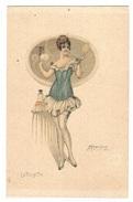 Illustrateur M. CHERUBINI - FEMME - MODE - EROTISME - WOMAN - FASHION - LA TOILETTE - Stampa Milano 3686 - 959/2 - Femmes