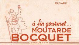 BUVARD MOUTARDE BOCQUET YVETOT - Moutardes